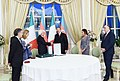 Award ceremony was held as part of Italian President's official visit to Azerbaijan 3.jpg