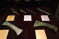 Axes and spears - National Museum of Kosovo.jpg