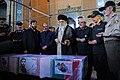 Ayatollah Khamenei in Funeral of Mohsen Hojaji in Tehran 03.jpg