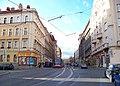 Bělehradská, zastávka Nuselské schody (01).jpg