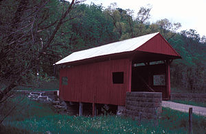 Blaney Mays Covered Bridge - Image: BLANEY MAYS COVERED BRIDGE
