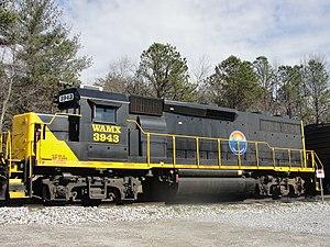 Blue Ridge Southern Railroad - Blue Ridge Southern 3943 at Arden.