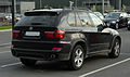 BMW X5 xDrive30d (E70, Facelift) – Heckansicht, 16. April 2011, Düsseldorf.jpg