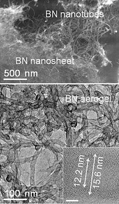 Boron nitride aerogel - Wikipedia