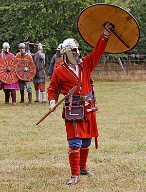 Viking Age arms and armour - Characterization of pre-Viking-Age (7th century) Anglo-Saxon equipment and dress (2010 photograph)