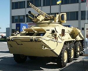 BTR-3 - Ukrainian BTR-3E1M in desert camouflage