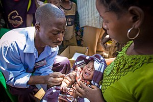 Yao people (East Africa) - Image: Baby injections