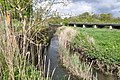 Backwater of the River Kenson at Burton Bridges, near St Athan - geograph.org.uk - 1285316.jpg