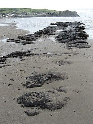 Borth - Image: Badgernet Borth Beach 1