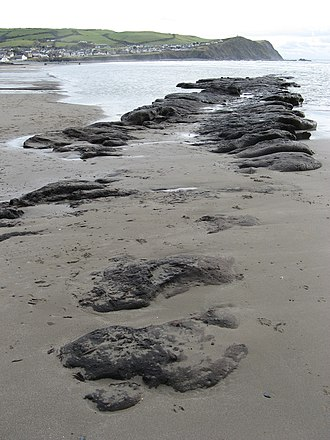 Cantre'r Gwaelod - Image: Badgernet Borth Beach 1