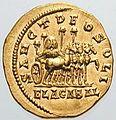 Baetylus (sacred stone) on four-horse chariot.jpg