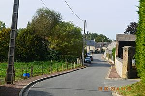 Bagneux, Aisne - A street in Bagneux