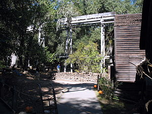 Bale Grist Mill State Historic Park - Image: Bale Mill, CA 128, St. Helena, CA 10 22 2011 11 46 32 AM