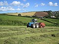 Baling silage in Salcombe - geograph.org.uk - 276471.jpg