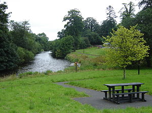 Ballyhaise - The River Annalee at Ballyhaise