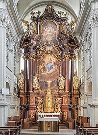 Bamberg Karmlitenkirche Altar 927454136 -HDR.jpg