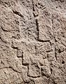 Bandelier National Monument in September 2011 - Cliff Dwellings - petroglyph 2.JPG