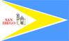 Banderade Municipio San Diego