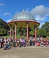 Bandstand, Roberts Park, Saltaire (21011438624).jpg