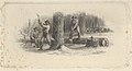 Banknote vignette showing woodsmen felling trees in a snowy forest MET DP837984.jpg