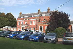 Grade II* listed buildings in Reigate and Banstead - Image: Banstead Place geograph.org 4173240