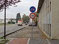 Baranzate - via Milano - termine pista ciclabile.JPG