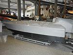 Barchino esplosivo - 1940 - mezzo d'assalto seconda guerra mondiale - Marina Militare Italiana - Museo della scienza e della tecnica di Milano - 01.JPG