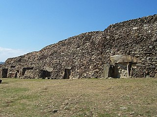 Barnenez Archaeological site in Plouezoch, France