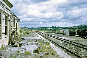 Barnstaple Victoria Road railway station - The station in 1969