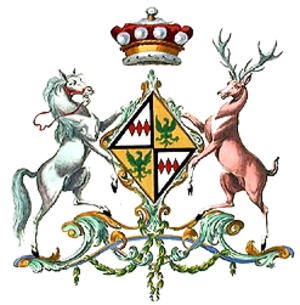 Mary Stuart, Countess of Bute - The coat of arms of Baroness Mount Stuart