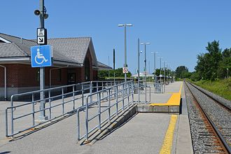 Barrie South GO Station - Image: Barrie South GO Station 0465