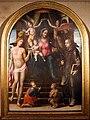 Bartolomeo neroni, madonna col bambino e santi, 1545-50 ca. (s. quirico, ss. sacramento) 01.jpg