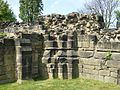Bases of columns, Monk Bretton Priory.jpg