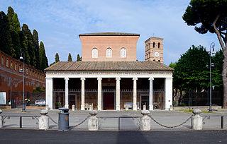 San Lorenzo fuori le Mura Church in Rome, Italy