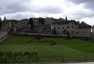 Basilica of San Francesco d'Assisi PAX.jpg