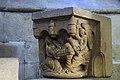 Basilique Saint-Sauveur de Dinan (Côtes d'Armor), chapiteau annonciation IMGP2139.jpg