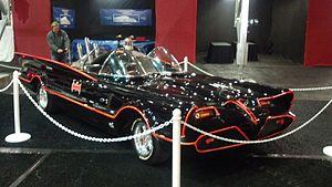 "The ""Tumbler"" Batmobile as seen in Batman Begins."