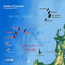 Battle of Coronel map (relief).jpg