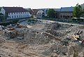 Baustelle nach Abbrucharbeiten Schwetzingen Juli 2013.JPG