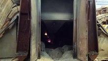 Dosiero: Baŭksito estanta digestita per lavado kun varma Sodium Hydroxide.webm