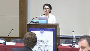 Kurdish women - Bayan Sami Abdul Rahman, KRG Representative to USA.