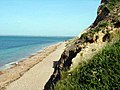Beach and Cliffs at Alum Bay - geograph.org.uk - 281442.jpg