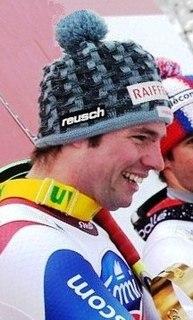 Beat Feuz Swiss alpine skier