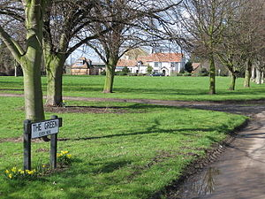 Beeston, Bedfordshire - Image: Beeston Green geograph.org.uk 351968