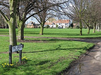 Beeston, Bedfordshire - Image: Beeston Green geograph.org.uk 351968