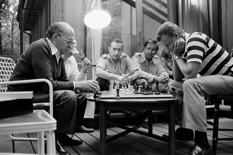 Begin Brzezinski Camp David Chess