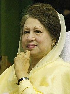 Khaleda Zia Former prime minister of Bangladesh, head of the Bangladesh Nationalist Party-BNP