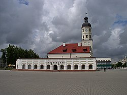Belarus-Niasvizh-Town Hall and Market Rows-2.jpg
