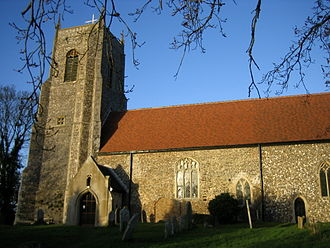 Belaugh - Image: Belaugh church
