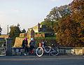 Belgrade. She-bikers in Kalemegdan.jpg